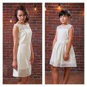 Нарядное платье Нежность: комплект мама-дочка (Family Look)