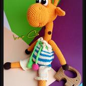 Жирафик, для обнимашек. Ручная работа