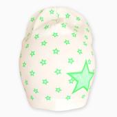 Шапка Звезда молочная на ог 48-54см