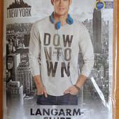 Реглан мужской р.XL 56/58 футболка с рукавами Livergy, Германия