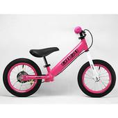 Беговел детский Profi Kids 12 дюймов M 3440AB, розовый