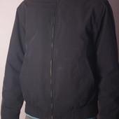 Тёмно синяя куртка- ветровка Story, р.М