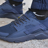 Мужские кроссовки Nike air Huarache blue кроссовки найк эир аир хуарачи
