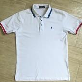 біла футболка теніска Polo