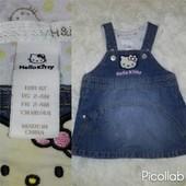 Джинсовый сарафан Hello Kitty от H&M для маленькой модницы