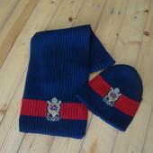 Набор шапка шарф Polo Ralph Lauren оригинал