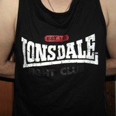 Спортивная оригинал майка борцовка бренд  Lonsdale (Лонсдейл).2хл