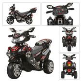 Детский электромобиль Мотоцикл (M 0562) черный