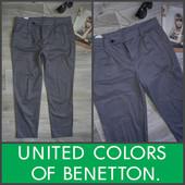 Шикарные брючки Benetton р 12 Хлопок