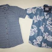 Рубашки M&S и Rebel состояние новых