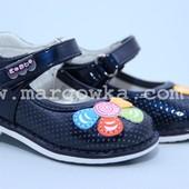 Новые туфли EeBb D1501blue Маломерят! Размеры:20-25