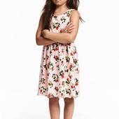 Сарафан с клубничками H&M 4-6 лет