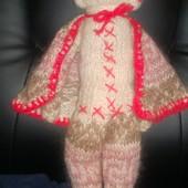 Кукла полностью ручной работы,покупалась в Англии