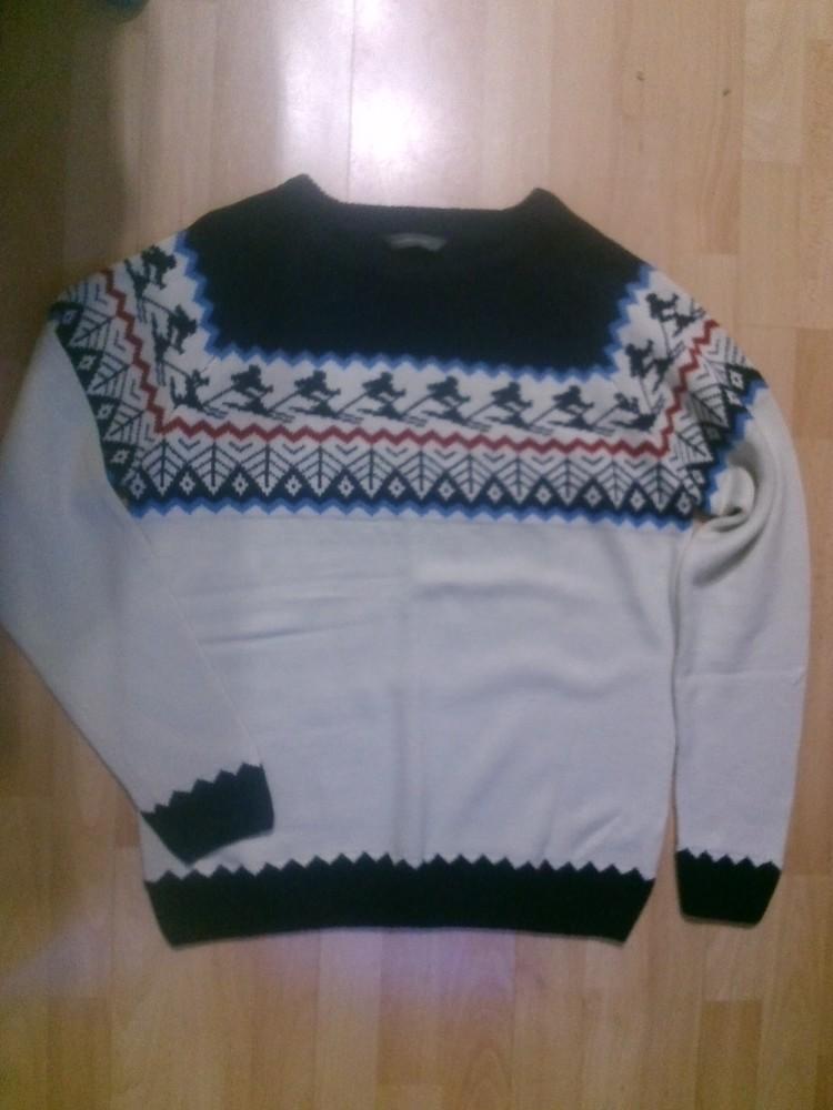 Фирменный свитер кофта L фото №1
