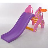 Детская Горка Жираф Pink
