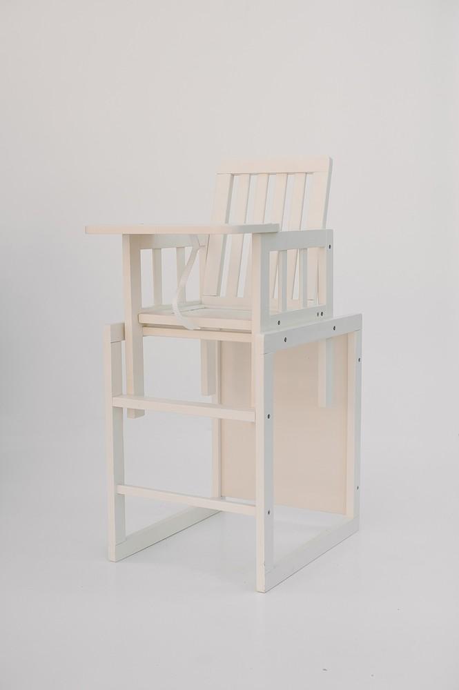 Деревянный детский стульчик для детей 2в1 (стул+стол) фото №1