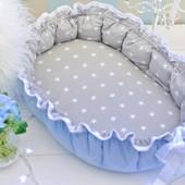 Кокон гнездышко бебинест позиционер для новорожденных