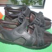 мужские сандали босоножки р.41 ( 7-7.5),вся стелька 27 см  кожа