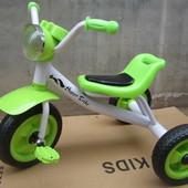 Велосипед 3-х калесный (3 цвета)
