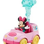 Новый набор Fisher-Price машина с Минни маус darling delivery Minnie
