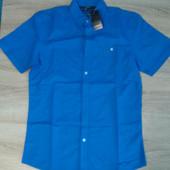 Мужская рубашка бирюзовая шведка размер S Livergy