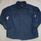 джинсовая рубашка Rebel 3-4 г., 104  см 100% котон