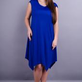Отличное платье на лето 50-56р., большемерит, разные цвета