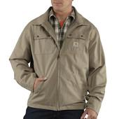 Мужская хлопковая курточка Carhartt men's big & tall flint jacket p. М