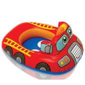Круг надувной детский Пожарная машина 59586, до 11 кг, (1-2 года), с ремкомлектом