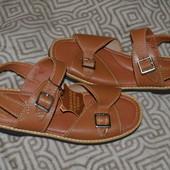 брендовые босоножки сандалии Pebe 27.5 см полностью кожа ортопеды