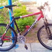 Продам алюминиевый горный велосипед Giant,состояние.