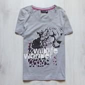 Стильная футболка для девушки. Esmara. Размер 10-12/38-40 (S-M)