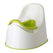 Горшок, бело зеленый, зеленый ikea lockig 601.931.28 икеа