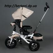 Велосипед трёхколёсный Best Trike 6595 детский Бест поворотное сидение фара
