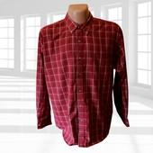 Мужская рубашка в клетку вискоза р.XL Puritan Сша