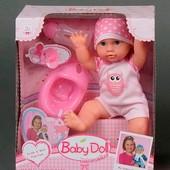 Пупс с аксессуарами. Аналог Baby Born (кукла беби, бейби, борн, берн)