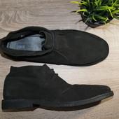 (44р./28,5см) Asos! Замша! Стильные ботинки, броги