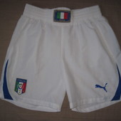 Puma (M) спортивные футбольные шорты мужские сборная Италии