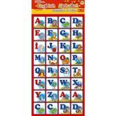 Магнитная азбука English Alphabet, английский алфавит, буквы на магнитах, задания