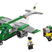 LEGO City Грузовой самолёт в аэропорту airport 60101 airport cargo plane building kit