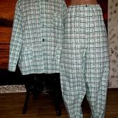 Пижама мужская 56-58 размер 100% хлопок