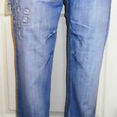 Летние мужские джинсы с элементами потертости Black Sea Турция р 27