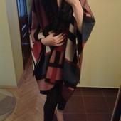 Обалденное пончо пальто  накидка плащ от Atmosphere, one size