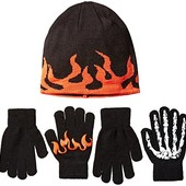 Children´s place Шапка и 2 пары перчаток для мальчика 8. США.
