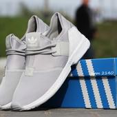 Кроссовки мужские сетка Adidas Light gray