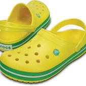 Яркие crocs Crocband кроксы оригинал Мексика 10M 12 W