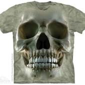 "Футболка The Mountain ""Big face skull"". Размер - m - l -2xl."