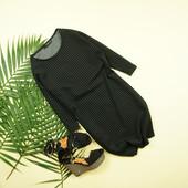 xs-s Новое Mango платье прямого кроя в лаконичную полоску!