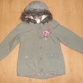 Куртка miss e-vie демисезонная 110-116 см, 5-6 лет, Италия