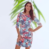 Эффектное платье весна-лето Tchibo евро 40-42 и 44-46